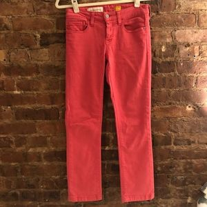 Anthropology boot cut jeans